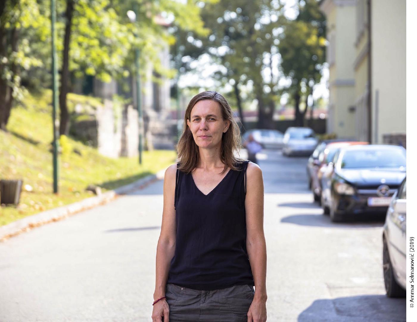 Visiting researcher from CEU Elissa Helms