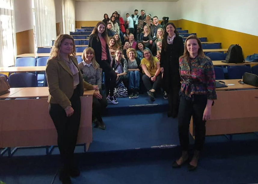 Visit of students from the Utrecht University, Netherlands