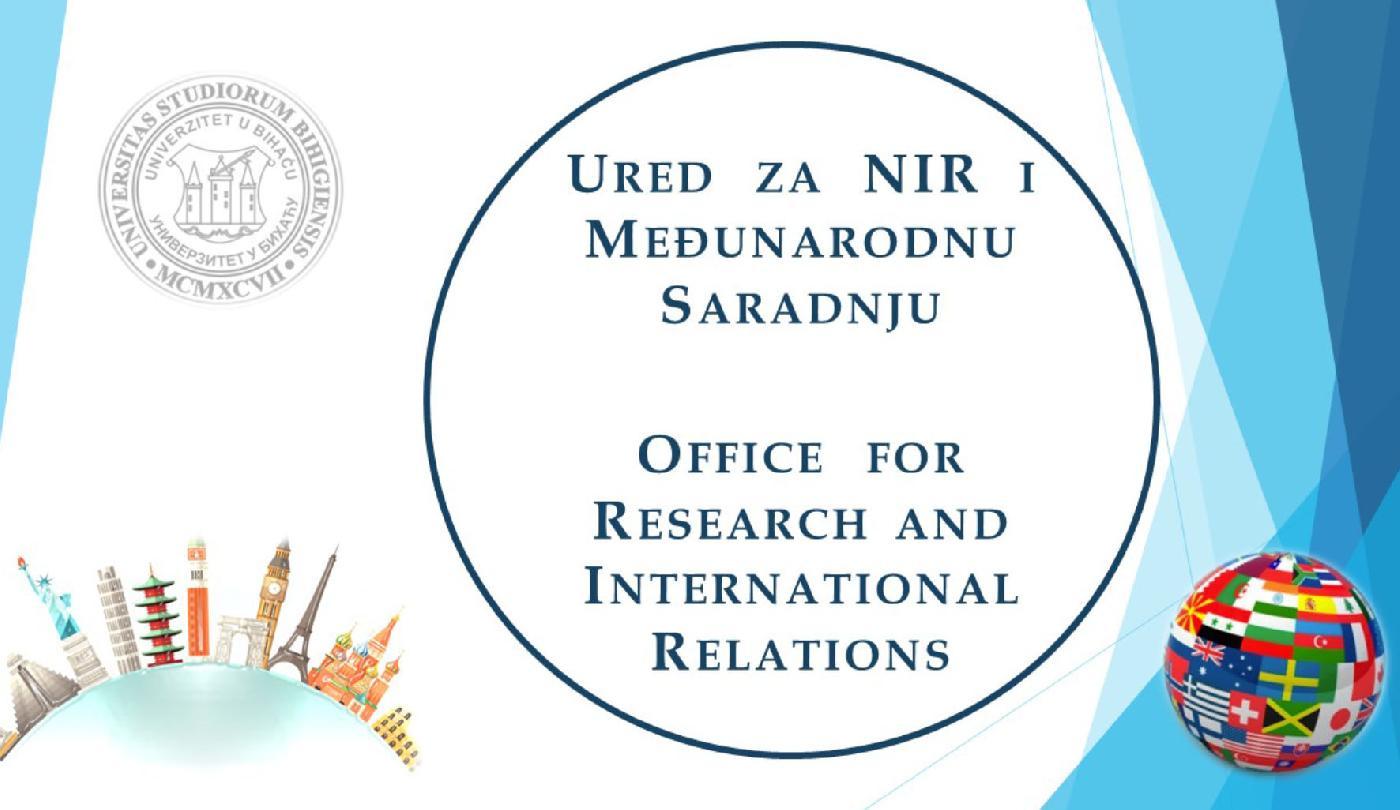 Ured za naučno-istraživački rad i međunarodnu saradnju