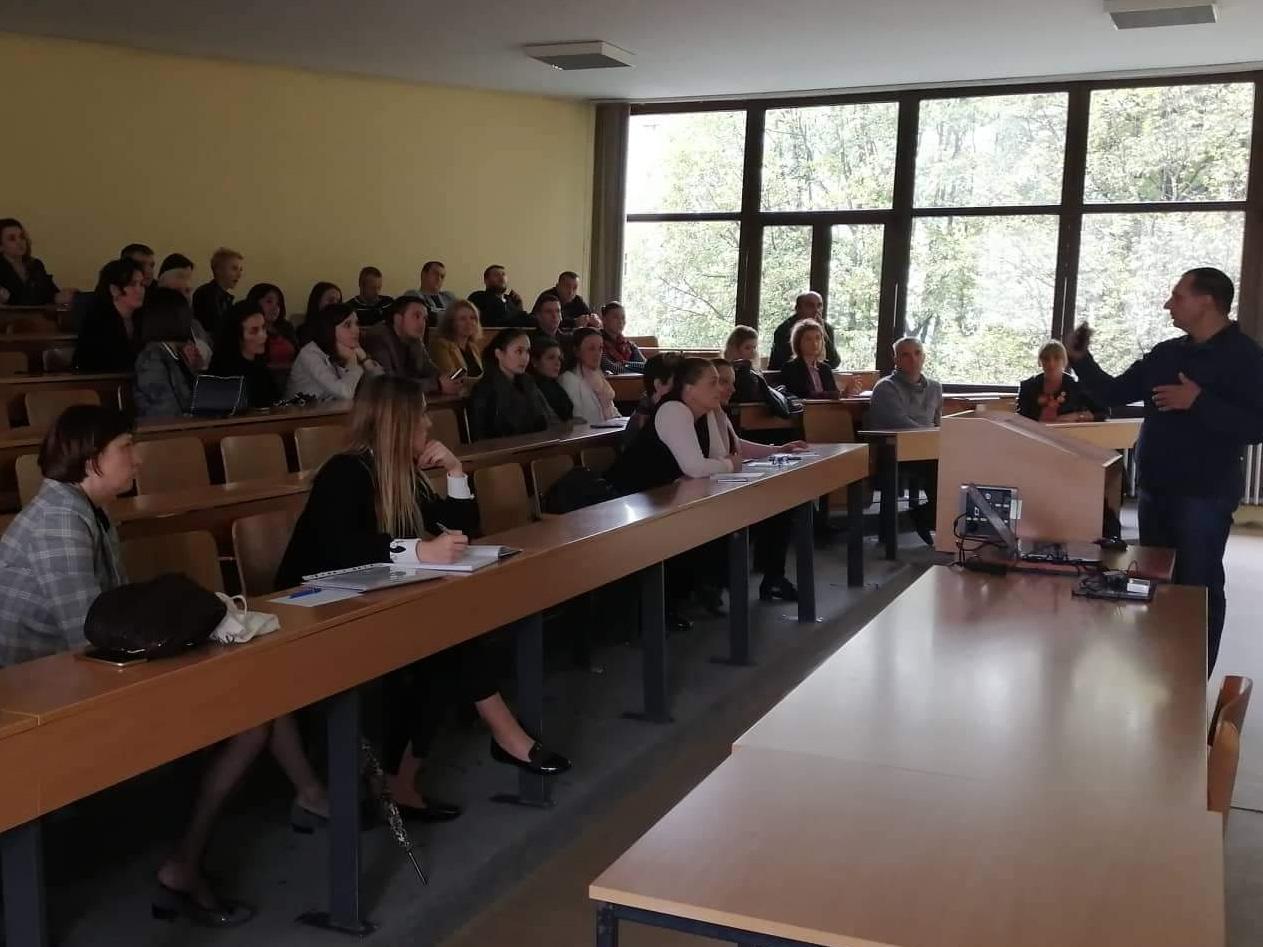 Sastanak sa polaznicima obuke iz engleskog jezika za zaposlenike Univerziteta u Bihaću