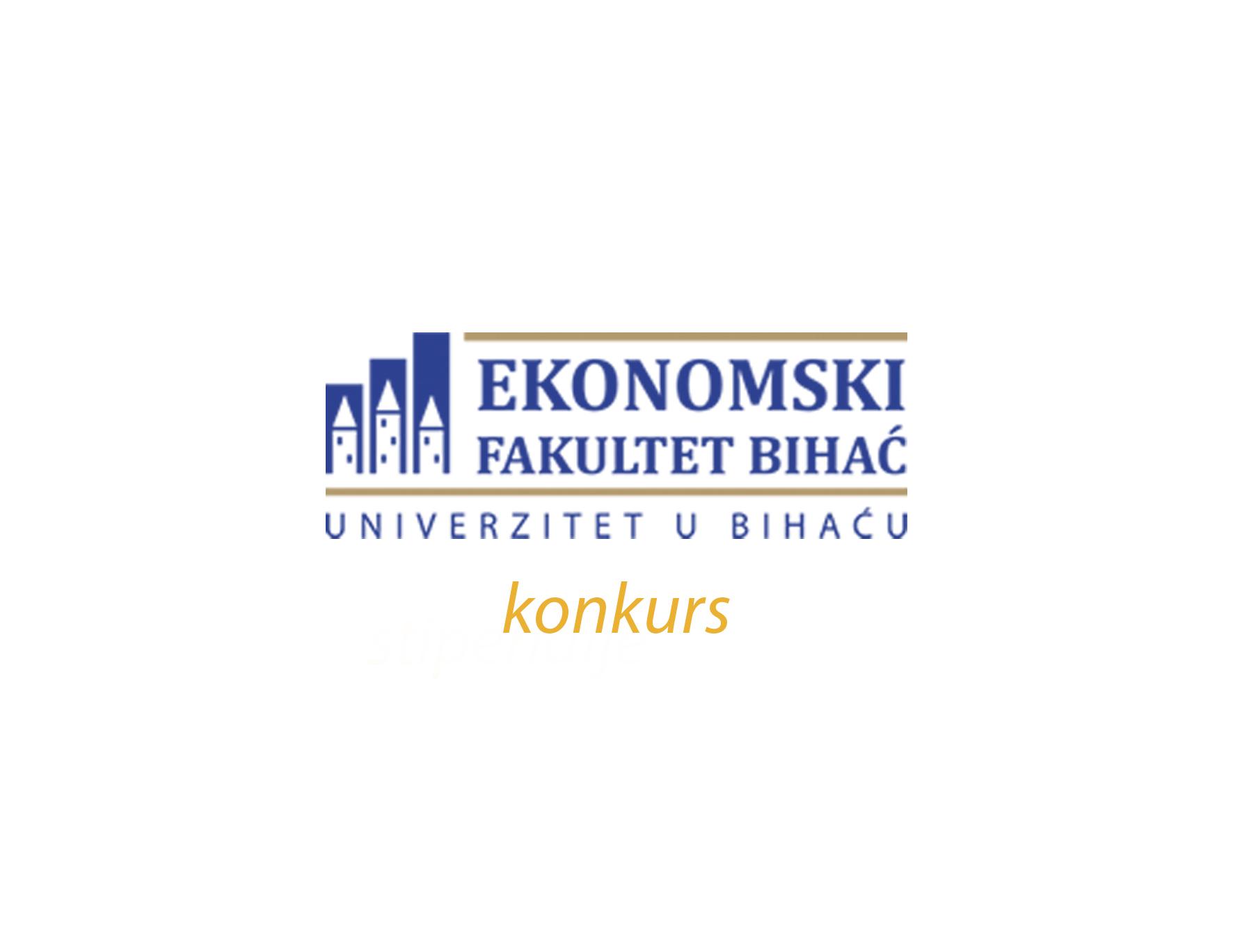 Konkurs Ekonomskog fakulteta Univerziteta u Bihaću