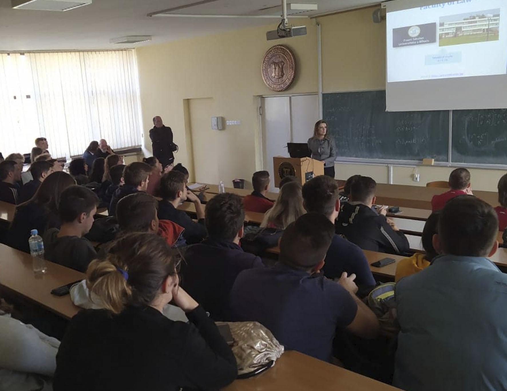 Posjeta studenata i nastavnika sa Avans University of Applied Sciences iz Nizozemske Univerzitetu u Bihaću