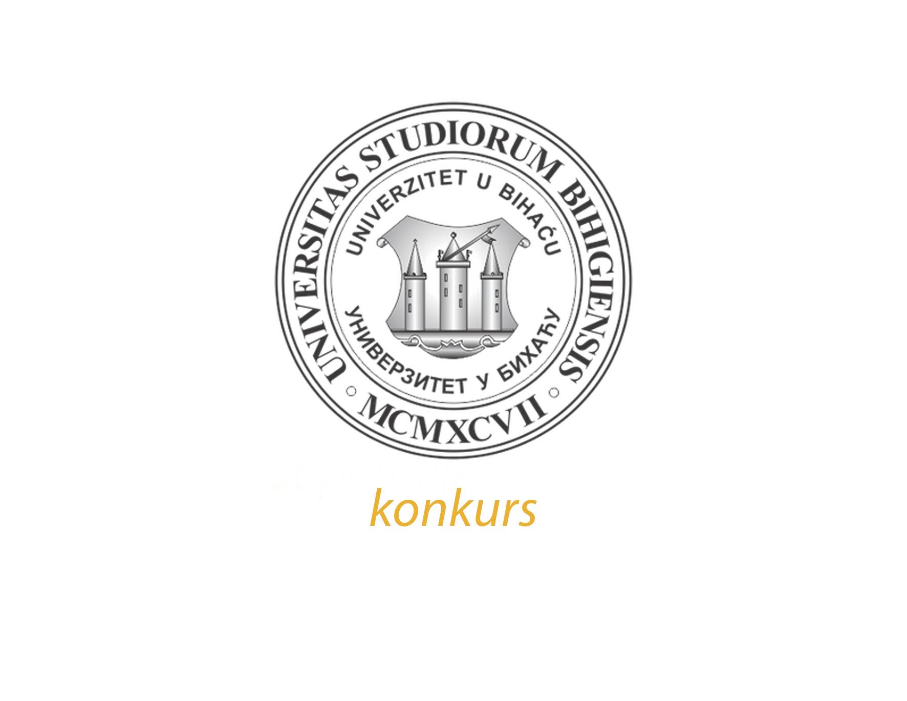 Konkurs za izbor i imenovanje rektora Univerziteta u Bihaću