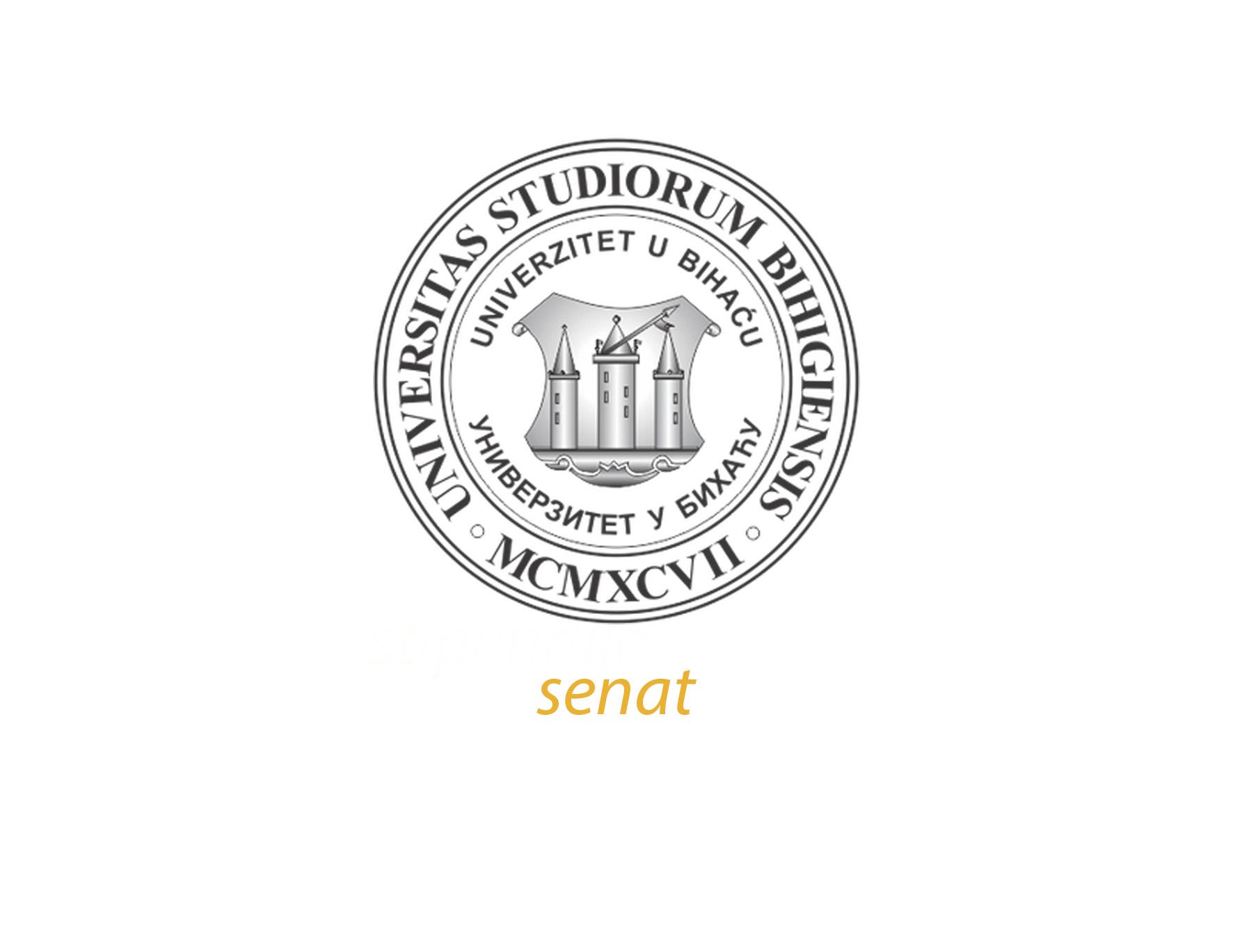 Održana redovna sjednica Senata Univerziteta u Bihaću