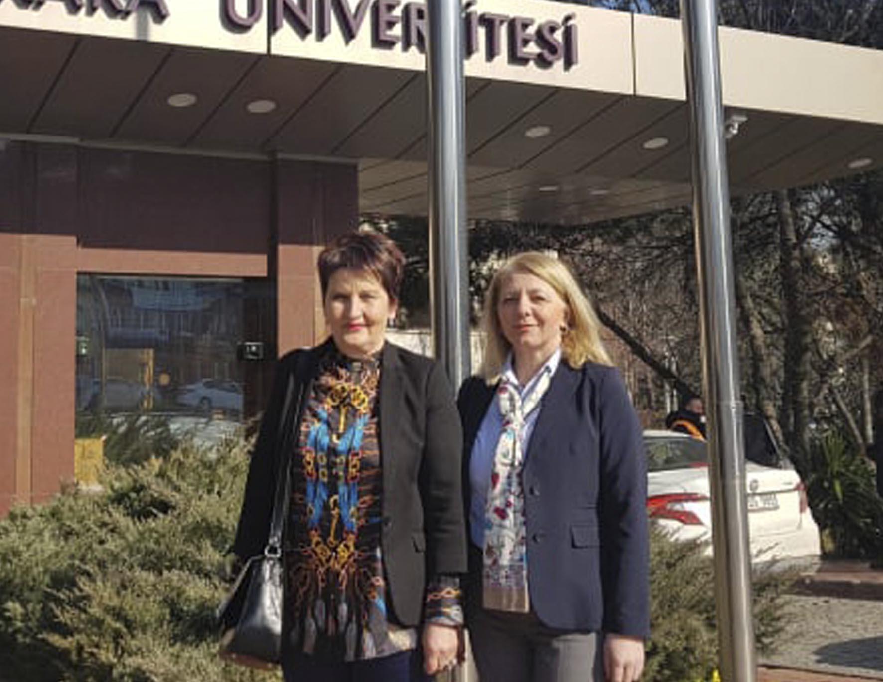 Studijska posjeta profesorica Biotehničkog fakulteta Univerziteta u Bihaću Univerzitetu u Ankari
