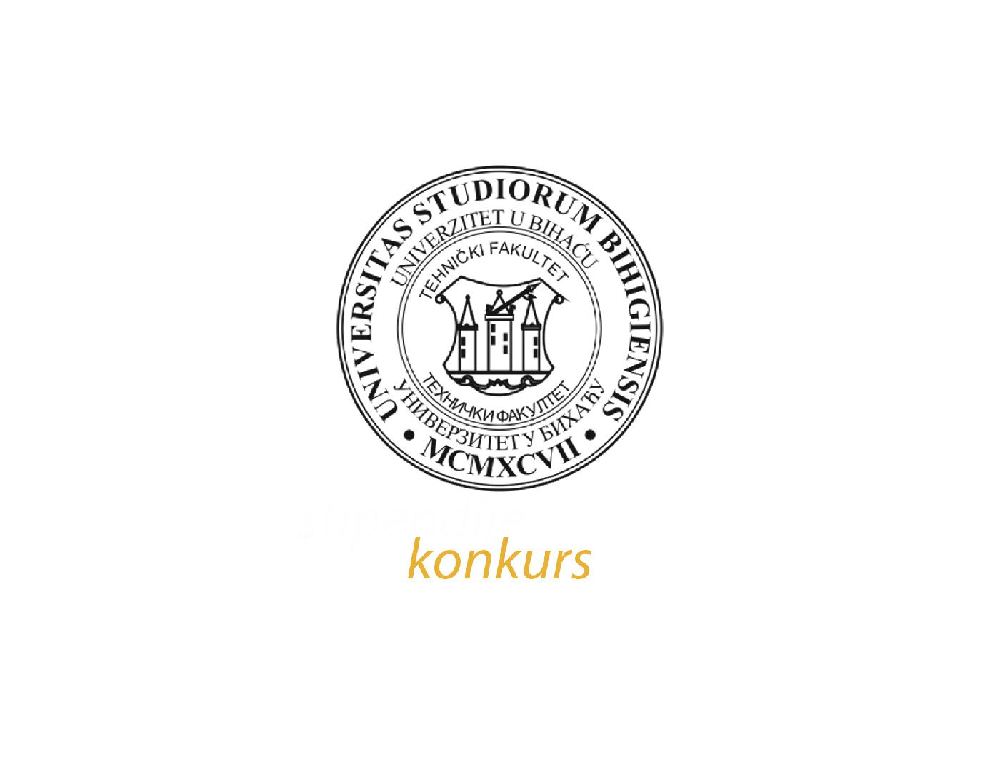 Konkurs Tehničkog fakulteta Univerziteta u Bihaću