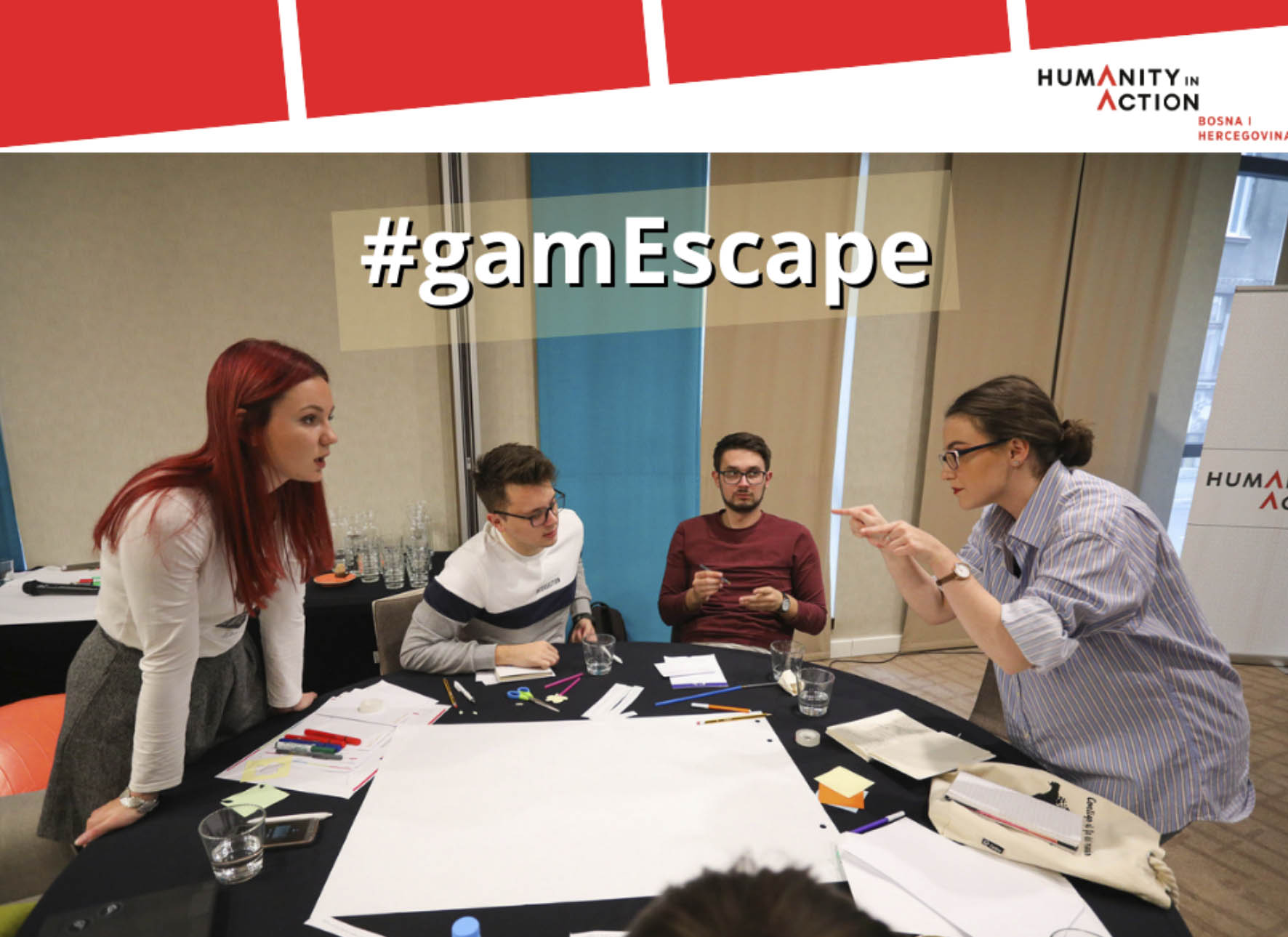 Prijava za učešće na Humanity in Action programu #gamEscape