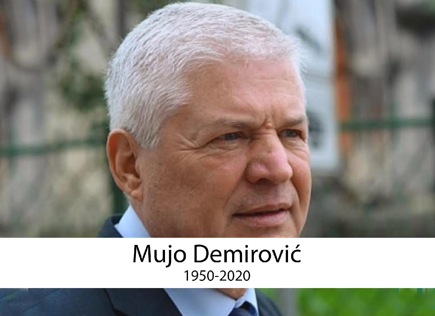 Akademik prof. dr. Mujo Demirović 1950-2020