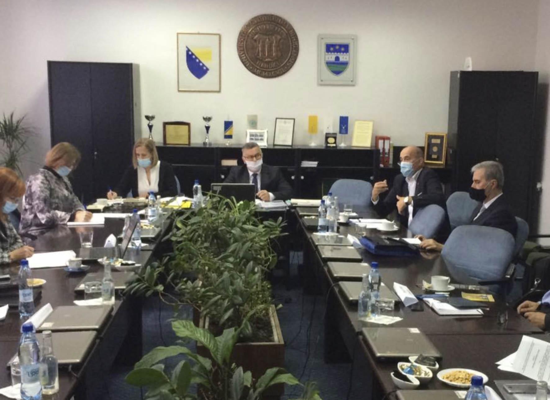 Četvrta sjednica Rektorske konferencije