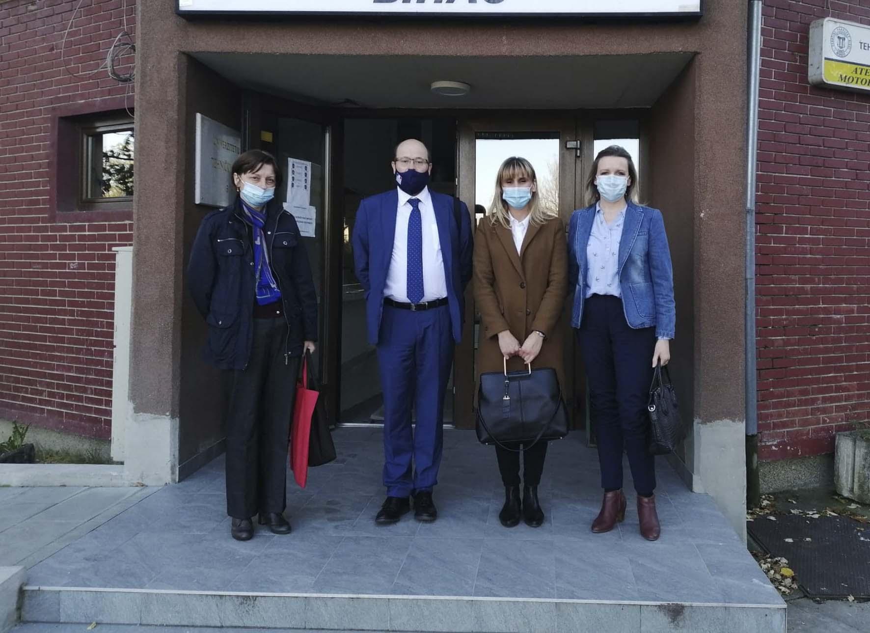 Posjeta Atašea za saradnju Ambasade Francuske u Bosni i Hercegovini Univerzitetu u Bihaću