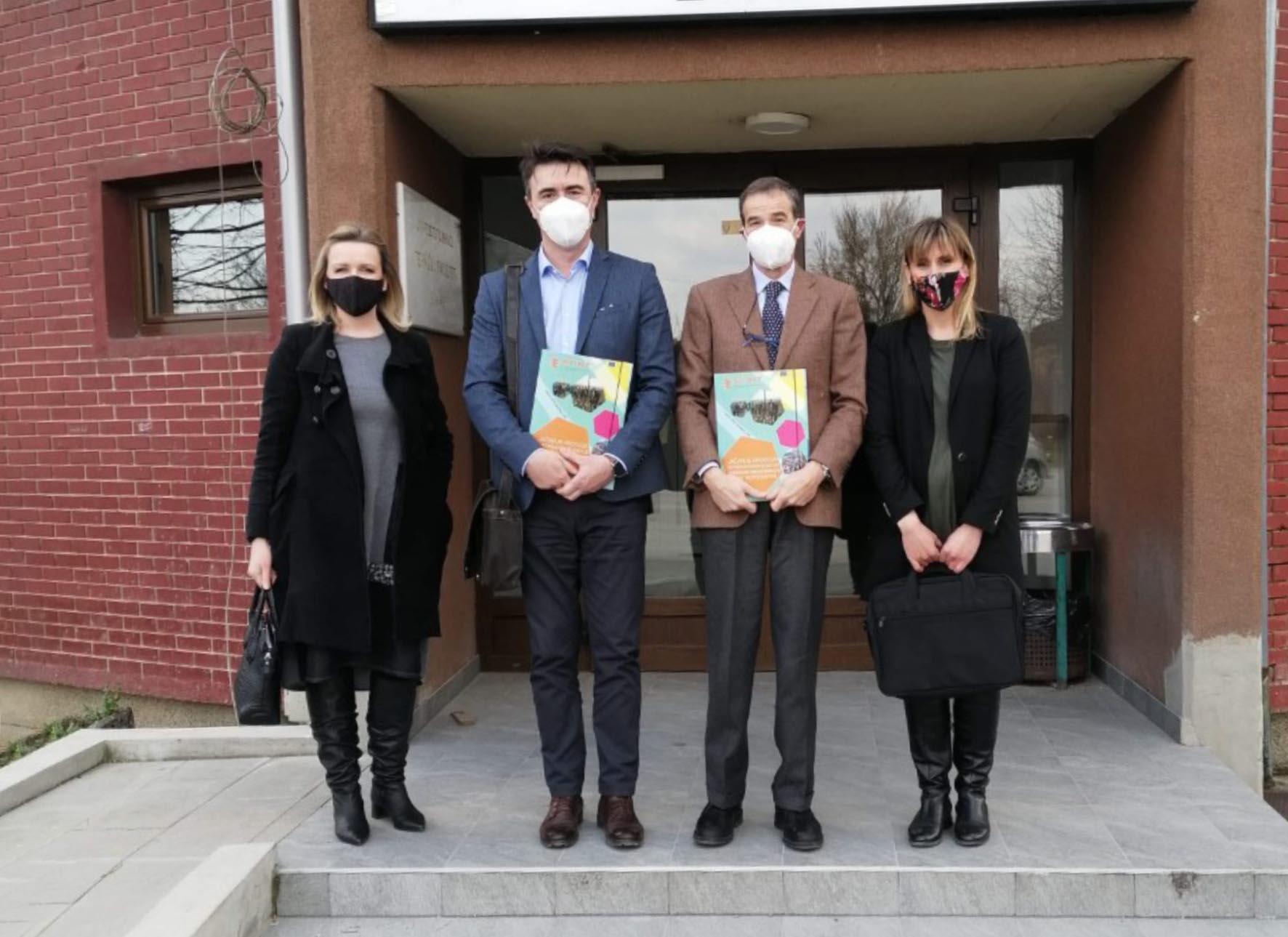 Posjeta predstavnika Delegacije Evropske Unije u Bosni i Hercegovini Univerzitetu u Bihaću