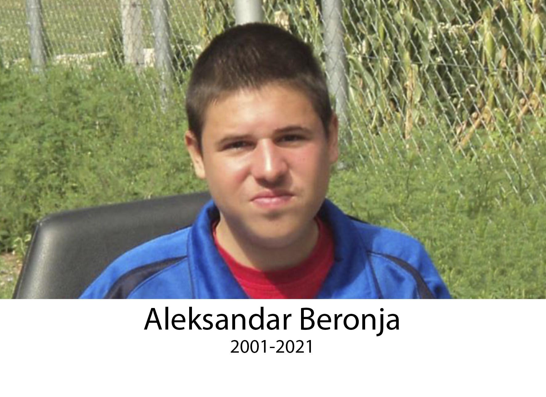 Aleksandar Beronja 2021-2021