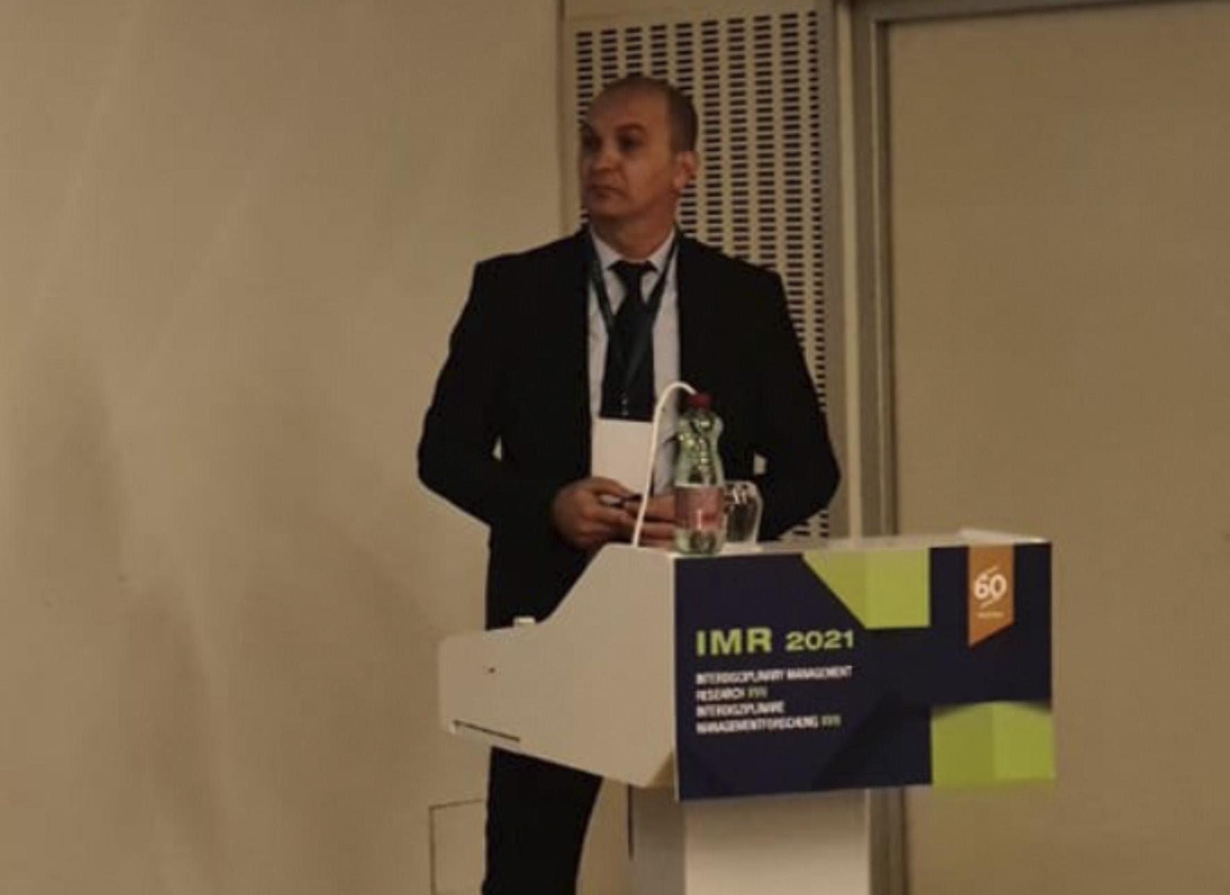Promocija knjige doc. dr. Kenana Mahmutovića i sudjelovanje na IMR 2021