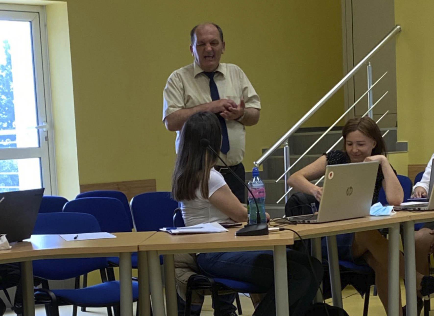 Dr. sci Ratko Knežević na Tehničkom univerzitetu u Sofiji u Bugarskoj