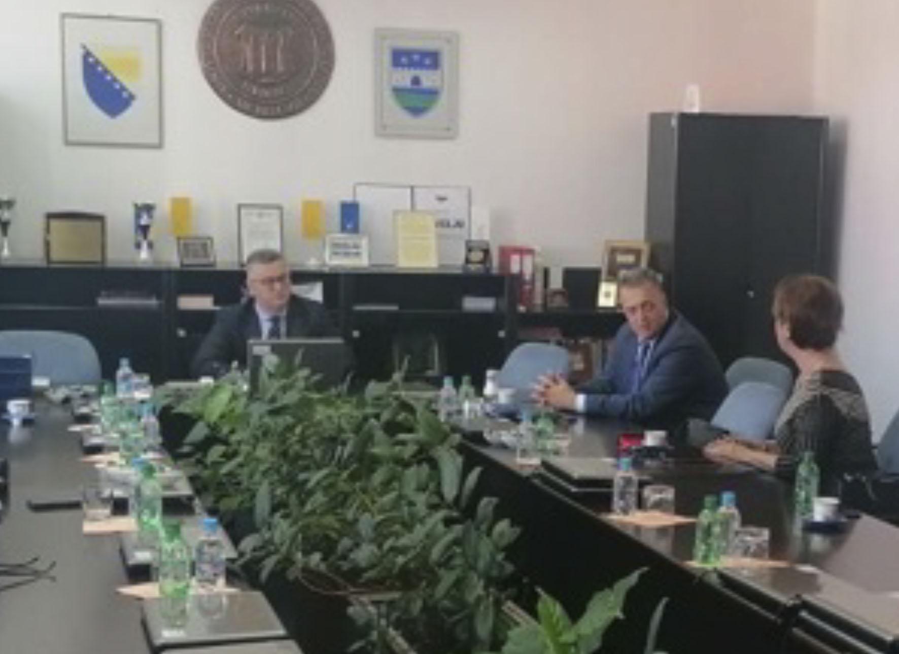 Predstavnici Bošnjačkog instituta iz Sarajeva u posjeti Rektoru Univerziteta u Bihaću