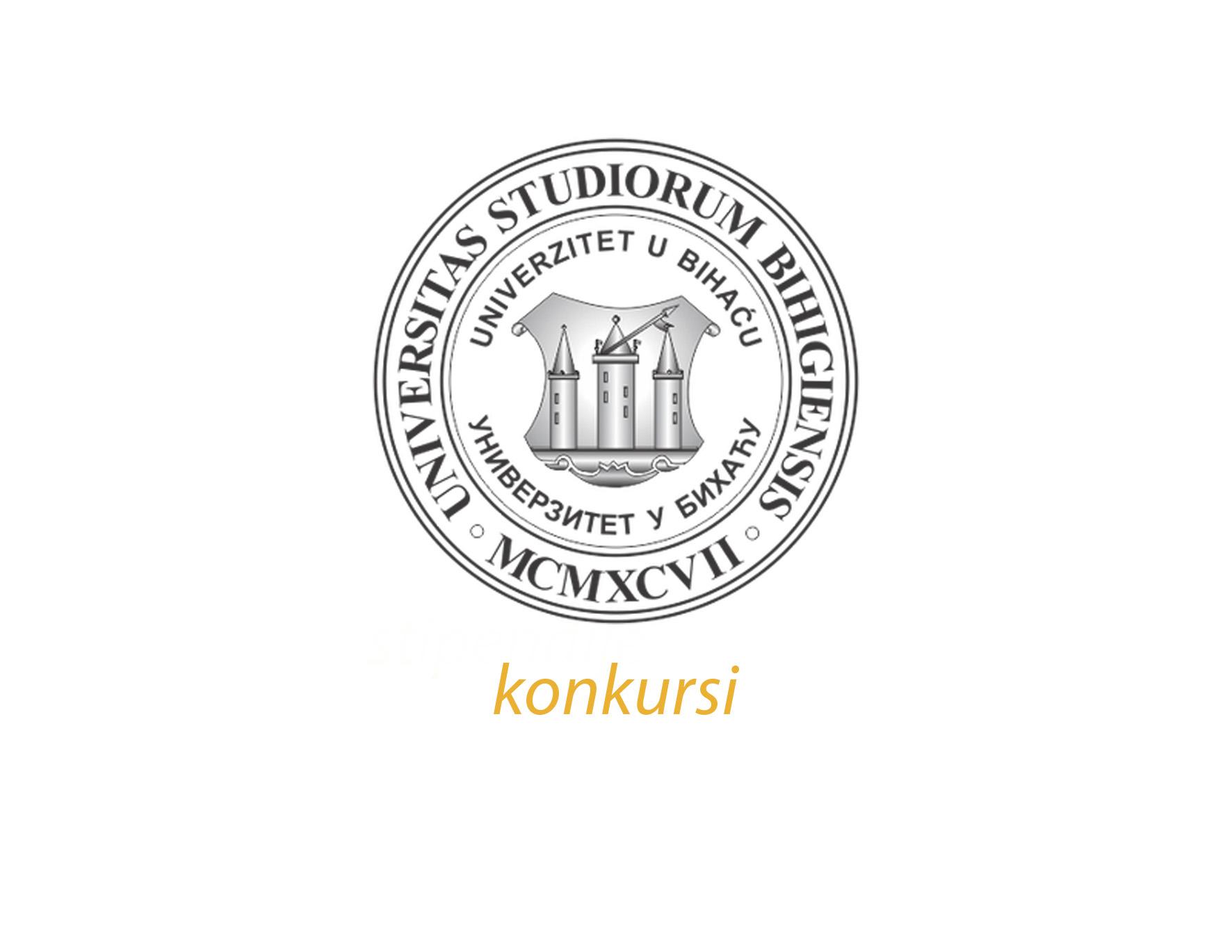 Interni konkurs na Univerzitetu u Bihaću