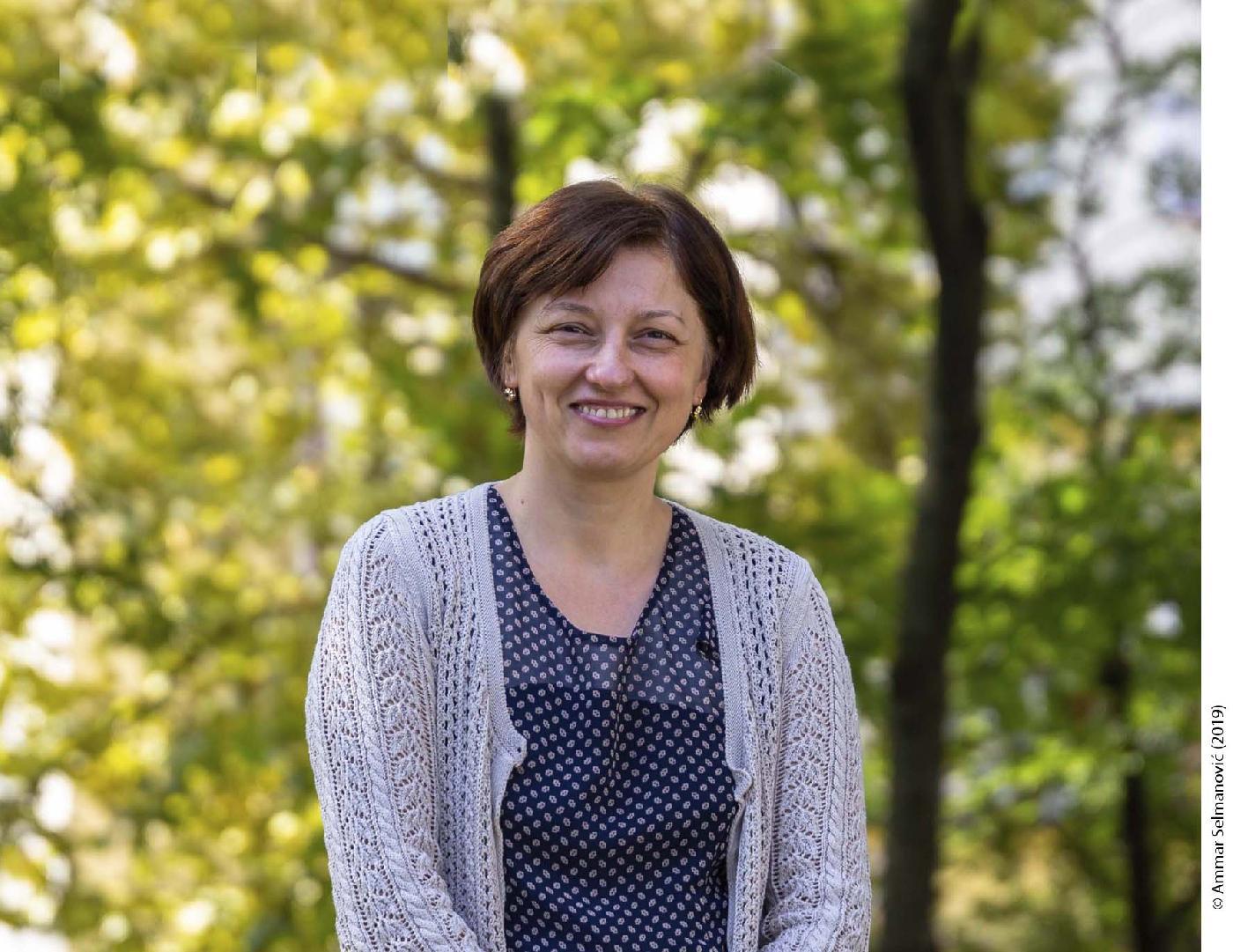 Prof. dr. Amela Čolić, prorektorica za naučno-istraživački rad i međuuniverzitetsku saradnju u zemlji i inostranstvu