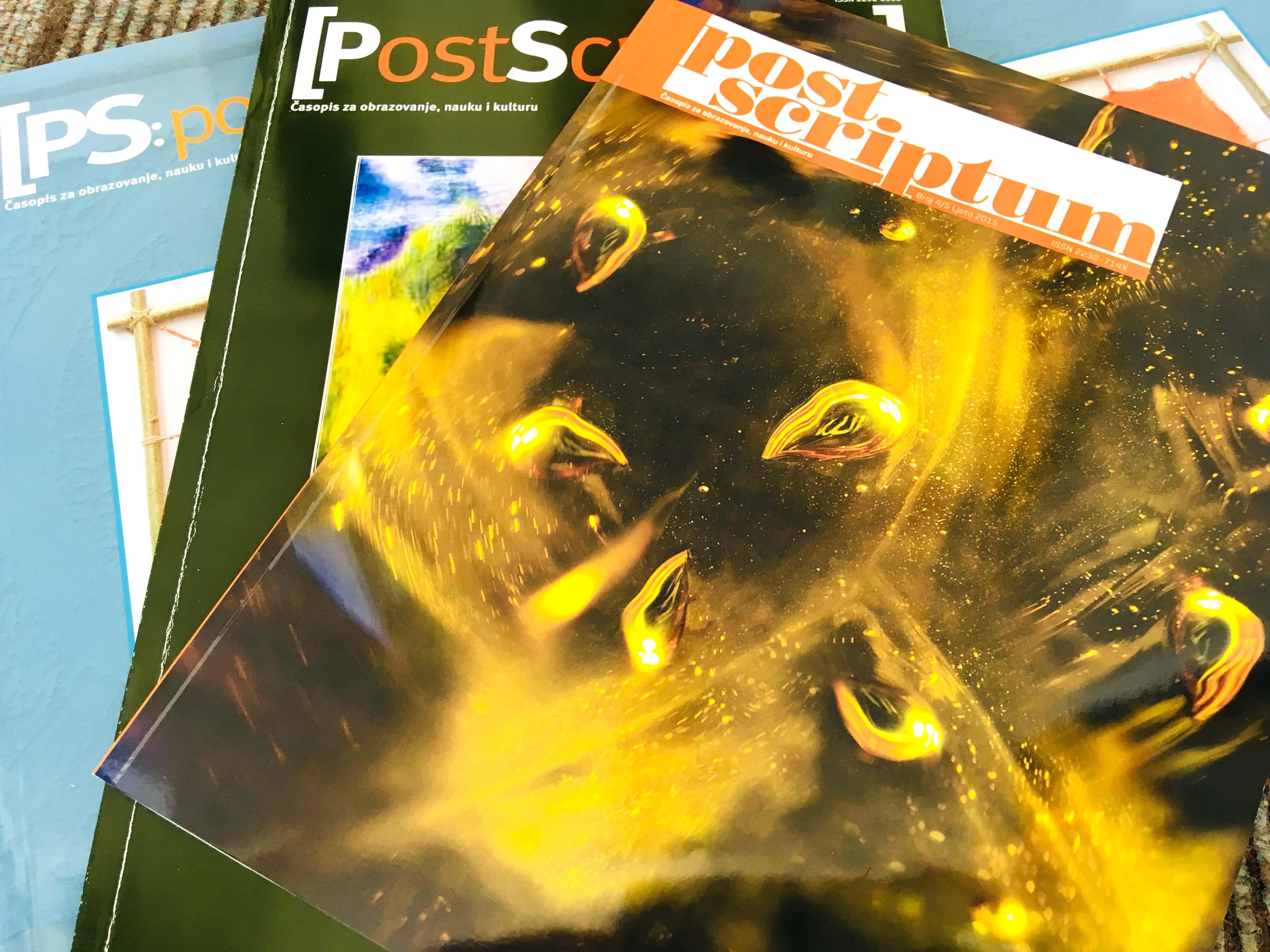 Naučno-istraživački časopis Post Scriptum indeksiran u EBSCO
