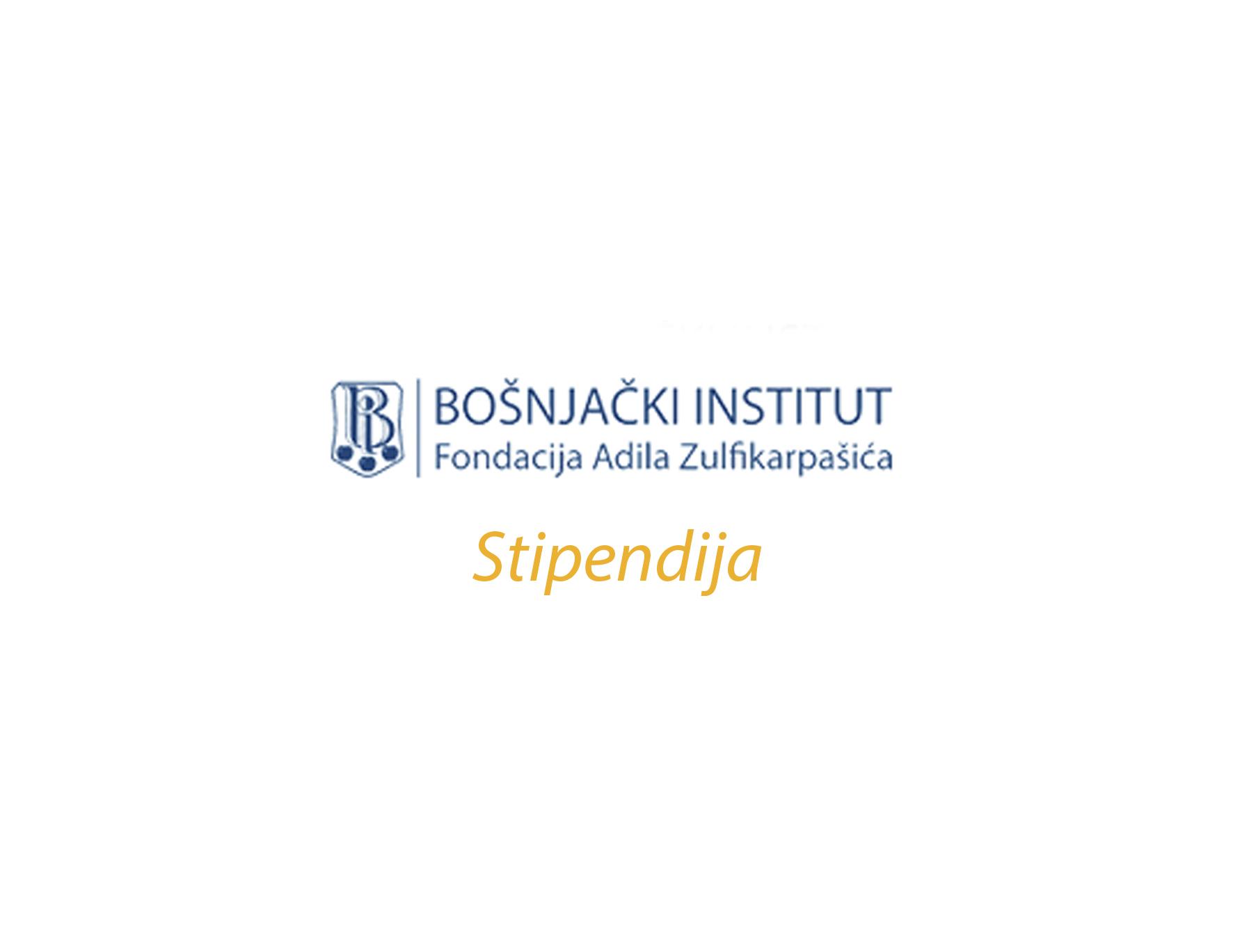 Stipendija Bošnjačkog instituta za akademsku 2019/2020. godinu