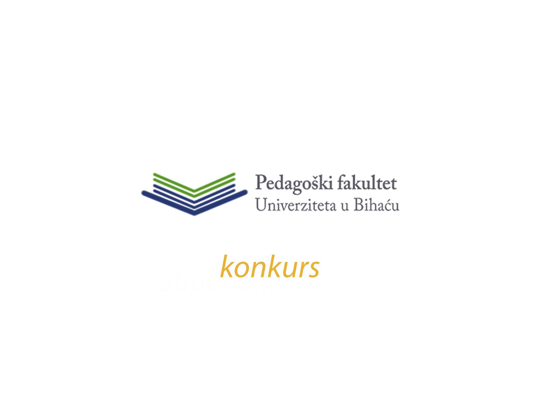 Konkurs Pedagoškog fakulteta Univerziteta u Bihaću
