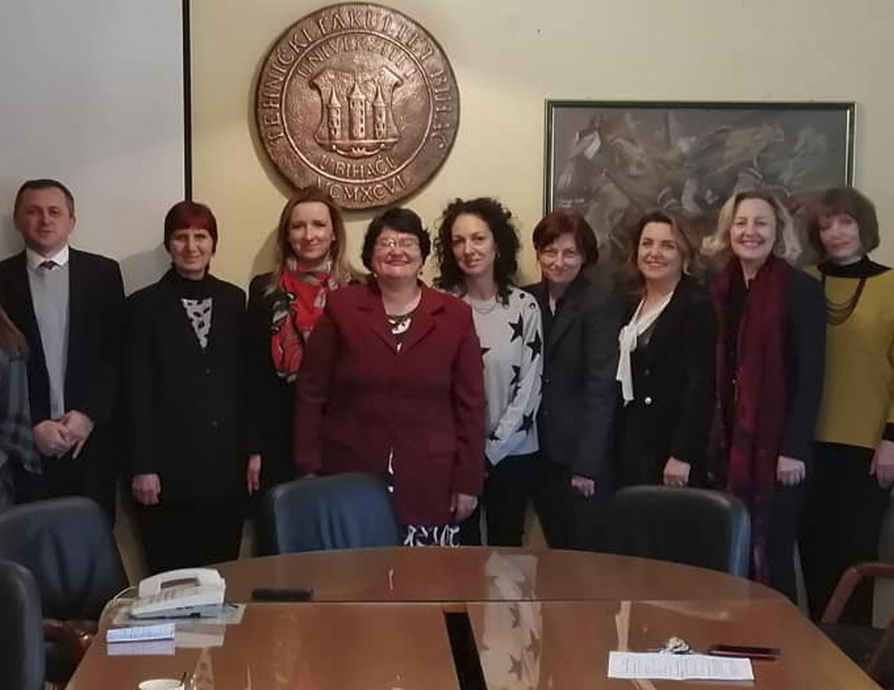 Posjeta nastavnika i saradnika Tehničkog univerziteta iz Sofije Univerzitetu u Bihaću unutar Erasmus+ ICM programa
