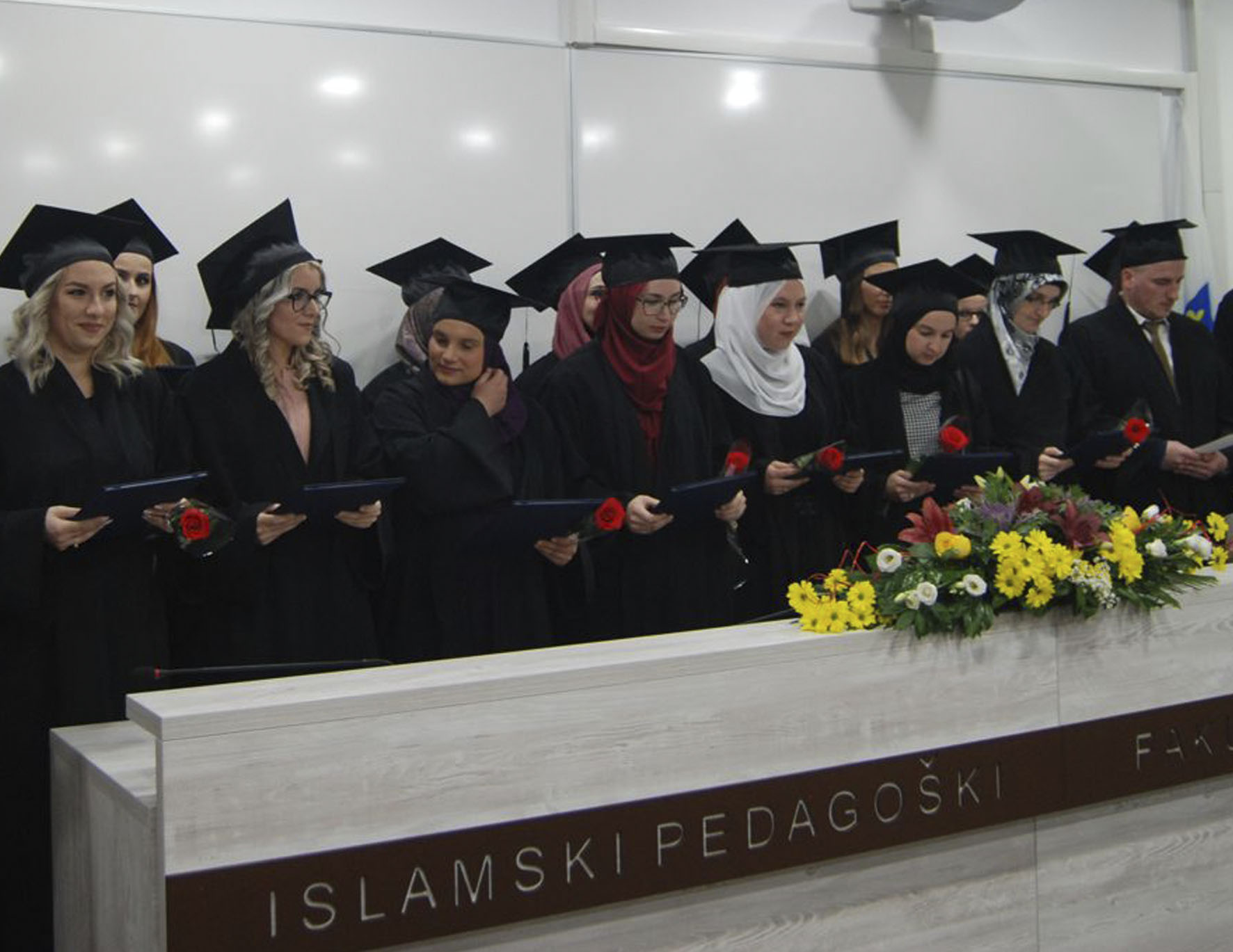 Svečana promocija diplomanata i magistranata na Islamskom pedagoškom fakultetu