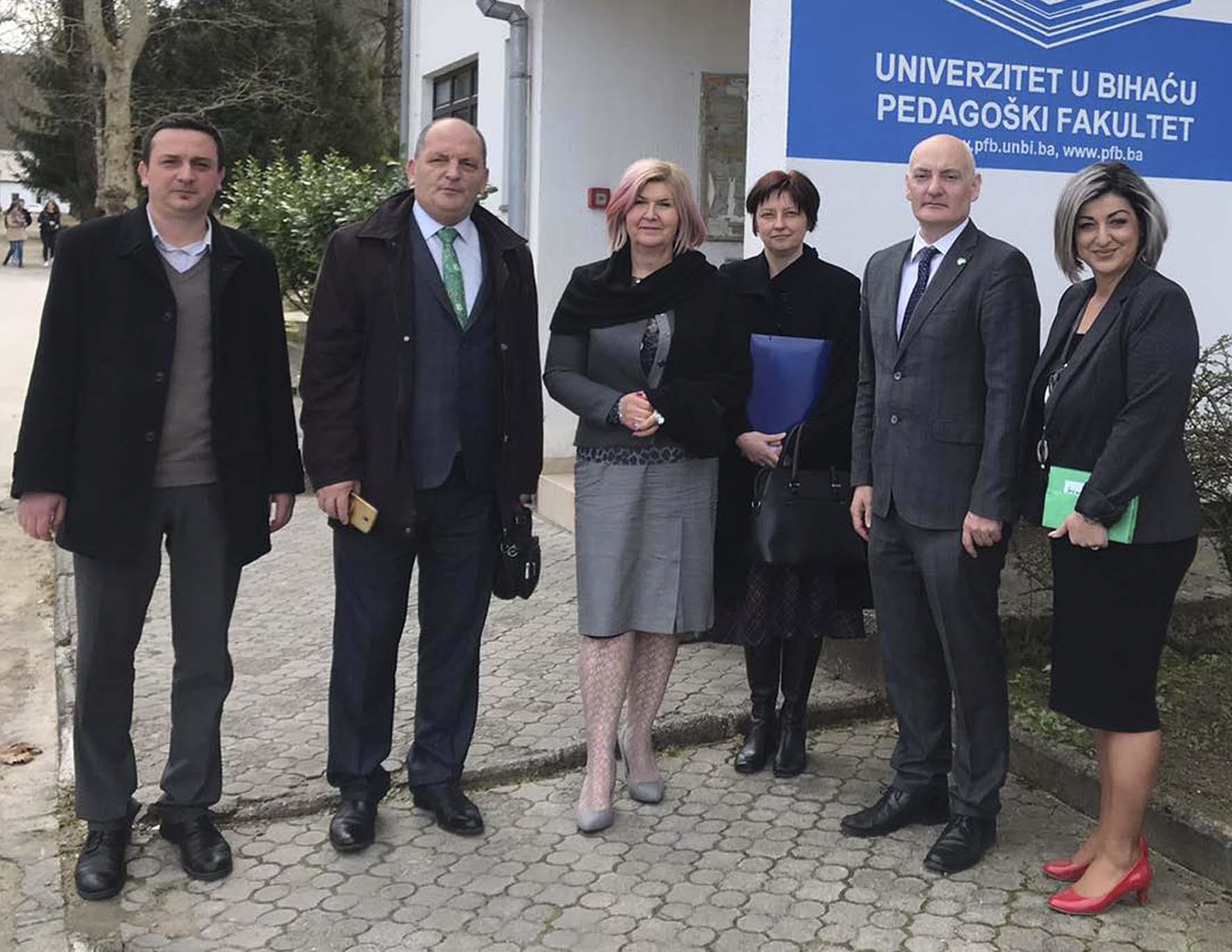 Posjeta Ambasadora Republike Irske u Republici Sloveniji Pedagoškom fakultetu u Bihaću
