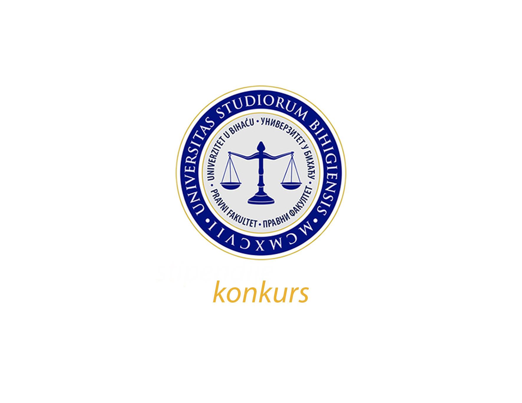 Konkurs Pravnog fakulteta Univerziteta u Bihaću