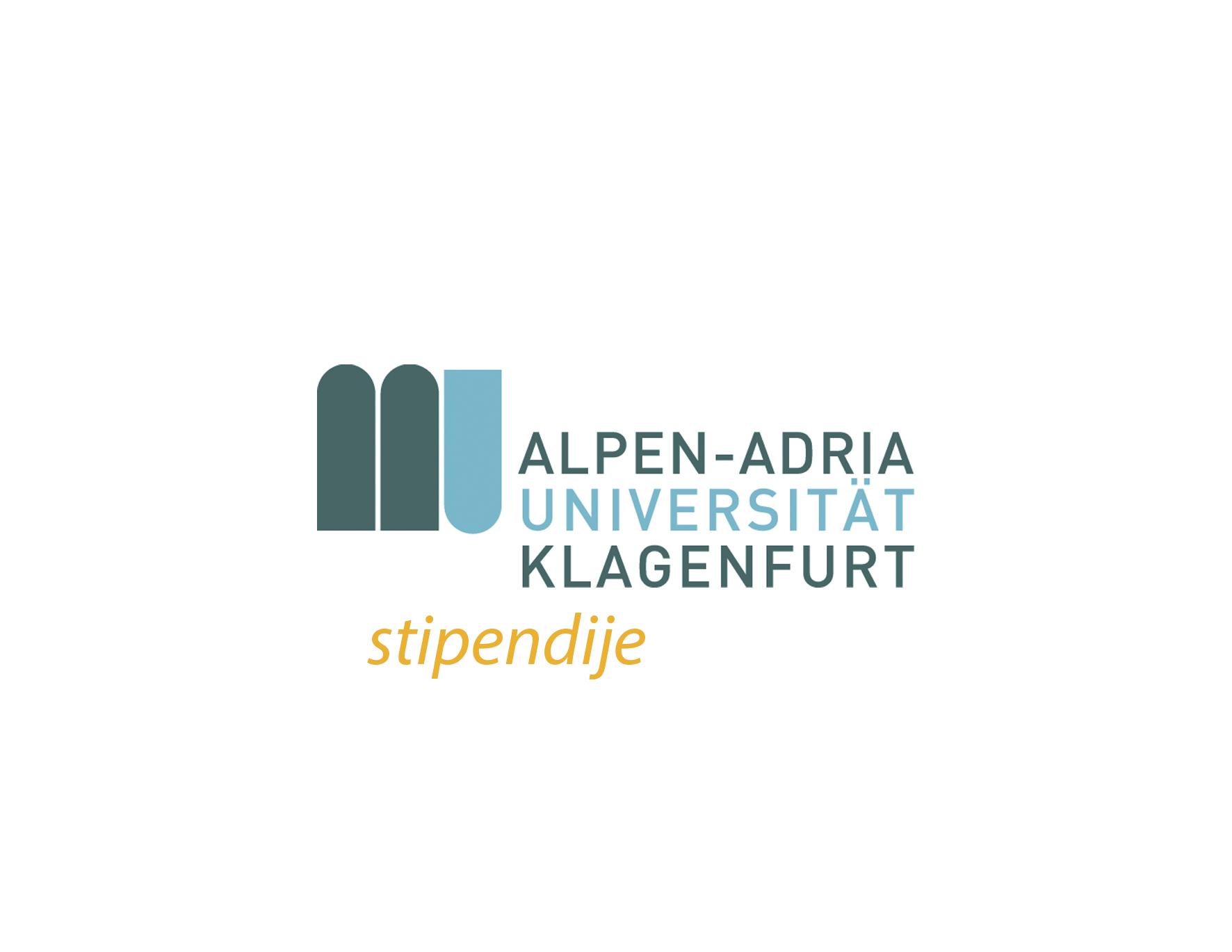 Alps Adriatic Master stipendije Alpen-Adria Univerziteta u Klagenfurtu