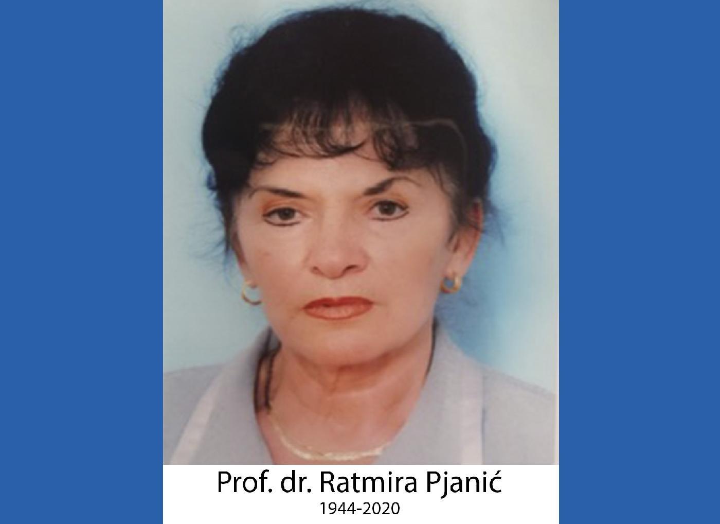 Nekrolog profesorici Ratmiri Pjanić – nekrolog učiteljici života