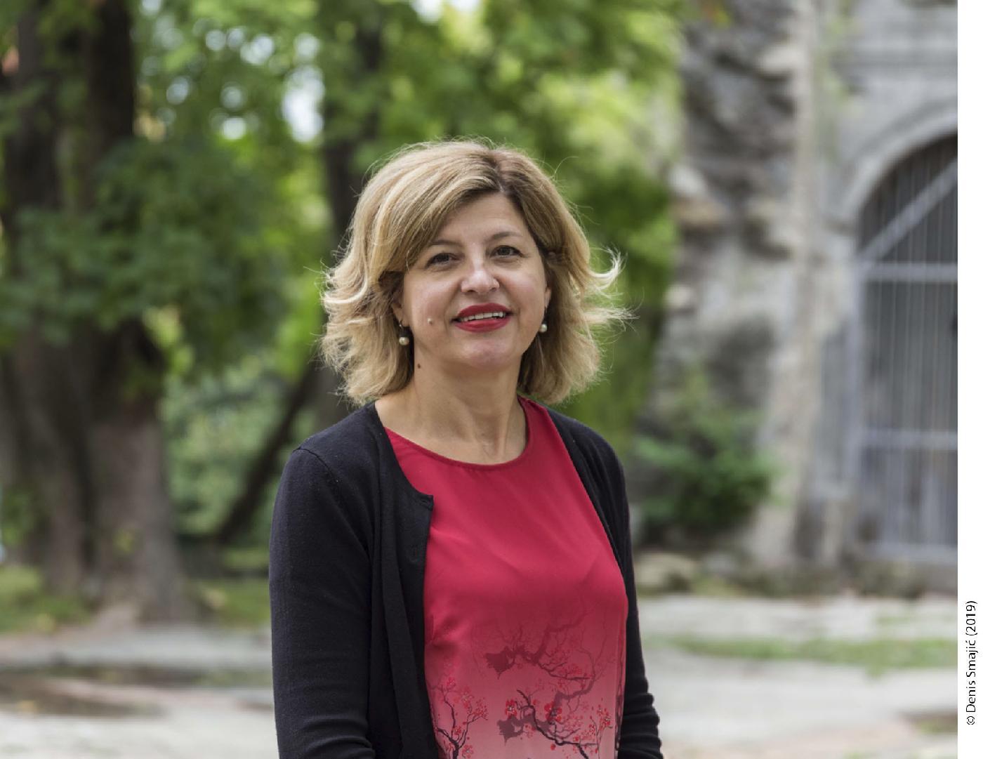Prof. dr. Jasmina Ibrahimpašić, prorektorica za financije i razvoj