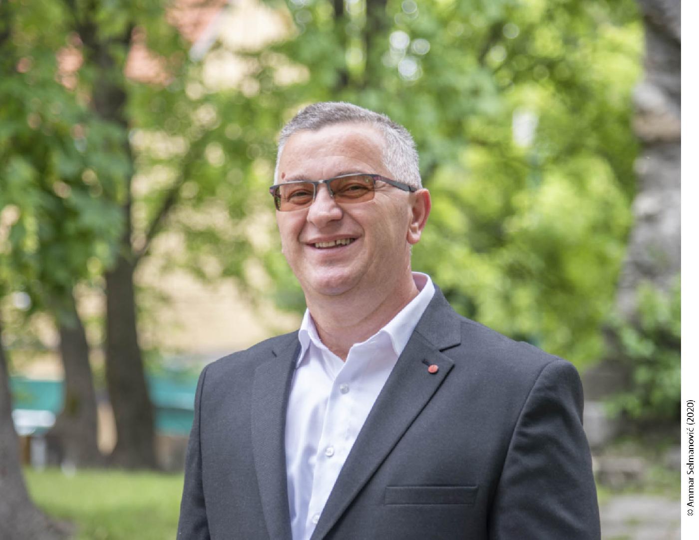 Prof. dr. Fadil Islamović, rektor